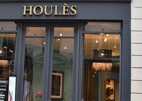 Réalisation magasin Houlès Paris